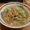 ラーメン哲史 - 料理写真:豚トロネギそば1100円