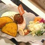 ルー&スープカレー ボナンザ - 【2019/3】かぼちゃトッピング
