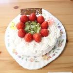 アプリコット - 誕生パーティー用ケーキ