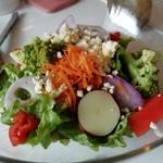 トラットリア グリーン - 料理写真:本日のサラダです。(2019年3月)