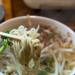 鶏焼肉東京 - 麺系の麺
