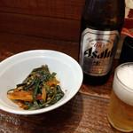 立川マシマシ - 瓶ビール~☆