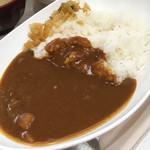カフェテリア ルネ - カレーライス  M  ¥280