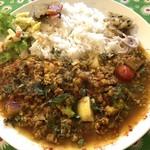 ラーマ - シェフ渾身の野菜キーマ