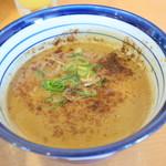 極つ庵 - 魚介と豚骨の濃厚スープ