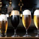 ワイズトウキョウ・イン・マツヤマ - キリンブラウマイスタ ー、アサヒ熟撰などのプ レミアムビールから一番 搾り、一番搾りスタウト まで生ビールは4種類も そろう!
