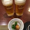 田吾作 月 - 料理写真:生で乾杯!('19/03/02)