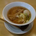 春の風 - 料理写真:醤油ラーメン味玉トッピング