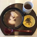 松栄堂 - 北海道産小豆のぜんざい