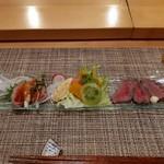 和縁 - 料理写真:前菜(ローストビーフ&タタキ)