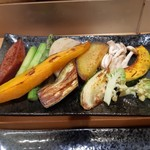 和縁 - 料理写真:焼き野菜
