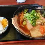 麺空海 - 料理写真:大将らーめん ¥880+おにぎり ¥160
