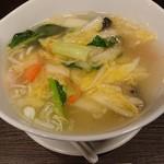 創作中華香港手作り点心チャイ - 海鮮湯麺