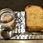 TAKAZAWA - 自家製パン アグー豚のリエットで