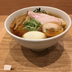 102999023 - 中華蕎麦(780円) + 出汁玉子(100円) + 大盛り(100円)