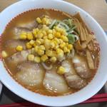 スガキヤ - 料理写真:味噌ラーメン(+チャーシュー10枚トッピング 笑)