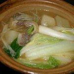 ゆた~と - 猪鍋(一人用)