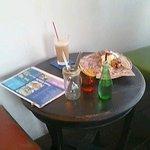 アシエンダ・カフェ - テーブル