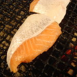 kitanokaisenaburinoanohakobune - 鮭ハラス