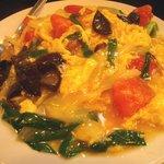 天鴻餃子房 - トマトと卵の炒め物