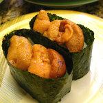 回転寿司 トピカル - 根室産ウニ