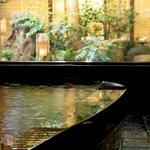 心の宿三國屋 - 庭を眺めながらゆっくり入れる貸切風呂(予約可・無料)