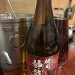 焼肉 静龍苑 - オリジナル焼酎の麦3000円