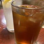 焼肉 静龍苑 - レモンサワーと烏龍ハイで乾杯!