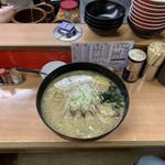 ラーメン 大和 - 鉄人ラーメン(30分でスープまで完食でラーメン一年無料と金一封)1980円