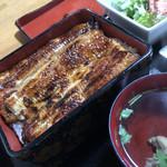 松のぶ - 料理写真:うな重(2,800円)★★★★☆