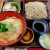 """謙徳蕎麦 - 料理写真:""""玉子丼セット"""""""