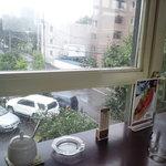 サッポロ珈琲館 月寒店 - 3階窓から
