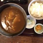 島田屋 - 料理写真:豚カレーうどん