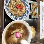 千富食堂 - 料理写真:ラーメンとチャーハン