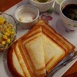カフェ ガウディ - 料理写真:Dayモーニングセット