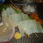 魚まさ - 活イカ刺身