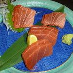 魚まさ - 本マグロ(赤身&中トロ)
