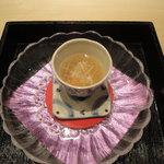 10302350 - 白出汁 海老 炙り貝柱