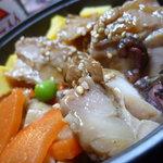 おむすび 重吉 - 11/2011鶏釜飯650円