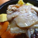 おむすび 重吉 - 11/2011鶏釜飯の鶏