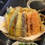 うどん家 一 - 野菜天ぷら