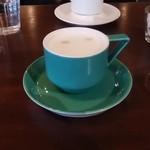 アオゾラコーヒーショップ - カフェラテ