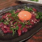 10303210 - 桜肉のユッケ