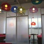 ハピネスカフェ - 左側には個室風のスペースもあります