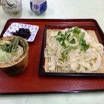 麺処丸三 - 奥会津の名水で打った平太な手打ち「うどん」は一度食べると最高、全国を旅した中では、ここが一番でした。