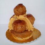 デリス ドゥ ラ マルグリット - 料理写真:サントノーレ キャラメル オランジュ