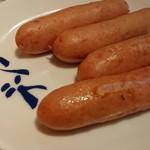 焼肉ホルモンブンゴ - ソーセージ♪