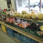 あきづき市場 - このコーナーで柿を・・