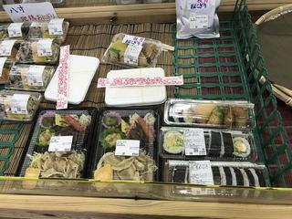 あきづき市場 - 巻き寿司は このコーナーで・・