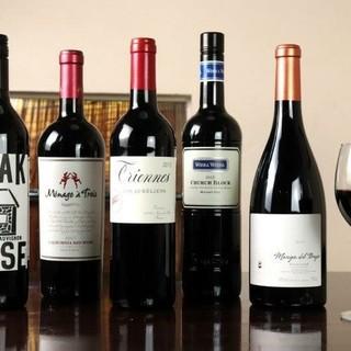 最高ランクのお肉と共に良質なワインを味わう、大人のひと時を。